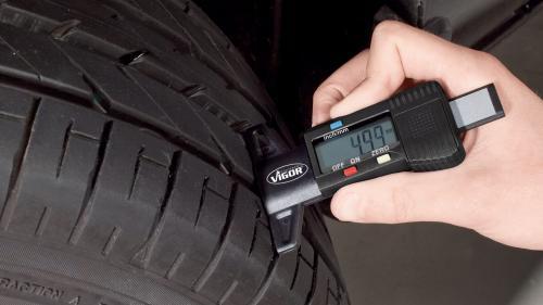 Worn Tire tread meter